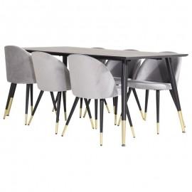 Zestaw Stół 180x90 + 6 krzeseł