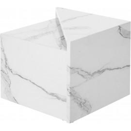 Zestaw 2 stolików Marmur