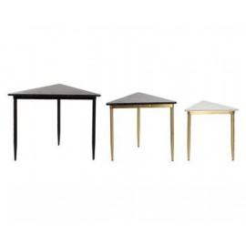 Komplet 3 stolików Marmur