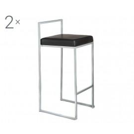 Krzesło barowe 2 szt. 41x88