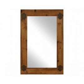 Lustro ścienne Drewno 65x100