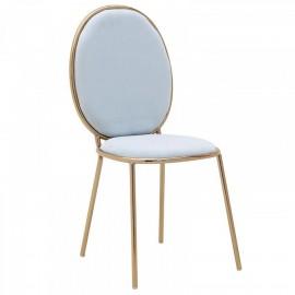 Krzesło z aksamitu 44x53