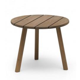 Stolik pomocniczy z drewna Ø 50