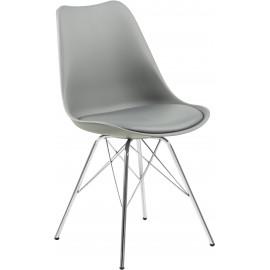 Krzesło z tworzywa sztucznego, 2 szt.
