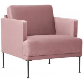 Fotel z aksamitu  74x85