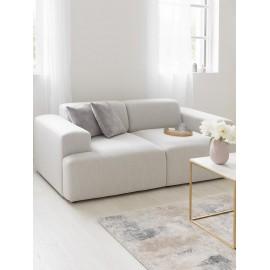 Sofa dwuosobowa (beżowy) 200x101