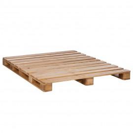 Łóżko z Palet 140x200 Sosna