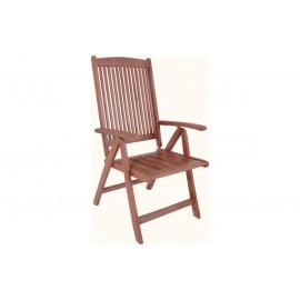 Krzesło Ogrodowe Drewno Eukaliptus