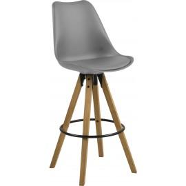 Krzesło barowe, kpl.2 szt.
