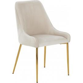 Krzesło tapicerowane Aksamit 53x60