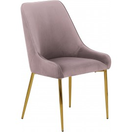 Krzesło tapicerowane z aksamitu 55x60