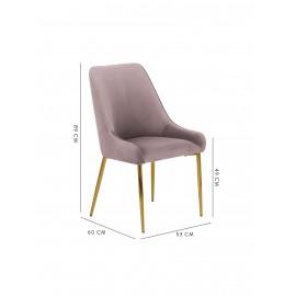 Krzesło tapicerowane 55x60