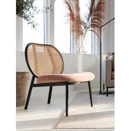 Fotel wypoczynkowy z plecionką wiedeńską 79x70