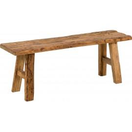 Ławka z drewna tekowego 120x45