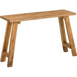 Konsola z drewna 120x40