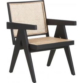 Fotel z plecionką wiedeńską 58x66