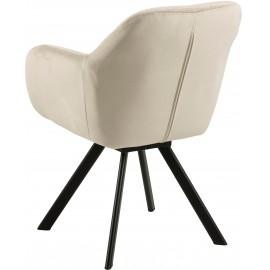 Krzesło obrotowe Aksamit 58x62