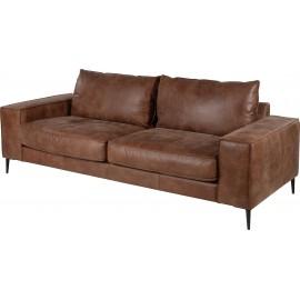 Sofa ze skóry 215x90