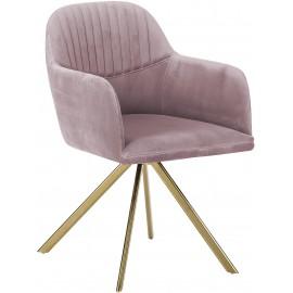 Krzesło Aksamit Róż